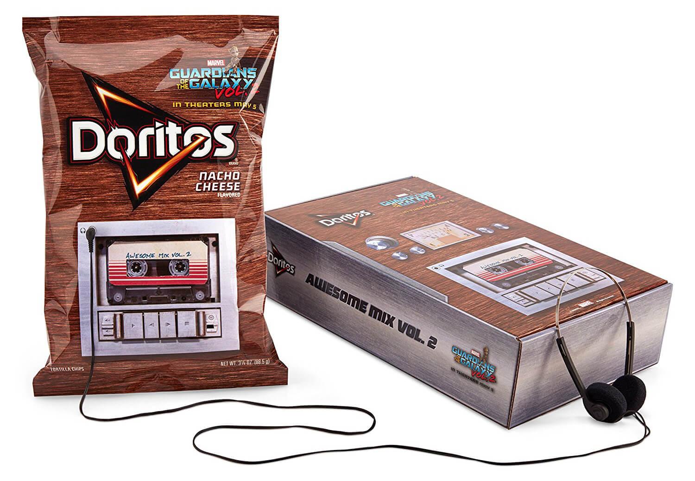 """Os salgadinhos personalizados """"Doritos music-playing"""" estão disponíveis  para venda nos EUA desde o dia 28 de abril. 5f49422d205"""
